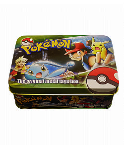 Metal tags box Pokemon (+5 φακελάκια)